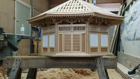 神社仏閣 八角堂